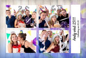 Fotobox für Geburtstage
